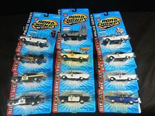 ROAD CHAMPS POLICE CARS DIE-CAST POLICE SERIES LOT OF 12