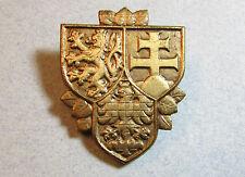 Large Czech Rep Prague Castle Guard CSFR Military Army Badge Czechoslovakia