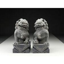"""Steinfiguren """"Wächterlöwen"""", chinesische Tempelwächter, Fu-Hunde, Feng Shui"""