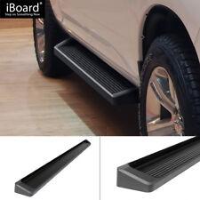 "6"" Black iBoard Running Boards Fit 09-18 Dodge Ram 1500 Quad Cab"