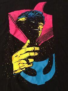 VTG MARVEL COMICS Tshirt Large DR. STRANGE MCU MASTER OF MYSTIC ARTS OOP