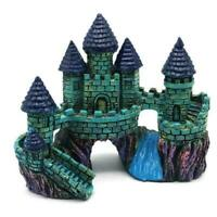 Aquarium Castle Ornament Castle Underwater Landscape Decoration Fish Tank Castle