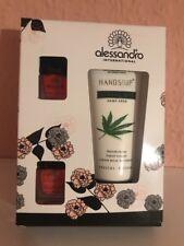 Alessandro Geschenkset 2 * Nagellack & Handcreme Herbal Bar NEU OVP