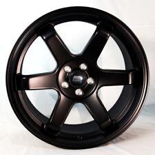 18x8.5 MST MT01 5x100 +35 Matte Black Wheel (1)