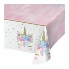 Unicorn Baby Party Supplies Table Cover