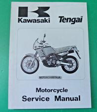 KAWASAKI Tengai kl650 kl500 kl 650 manuale d'officina owner's service manual