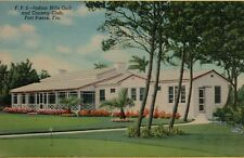 VTG Indian Hills Golf and Country Club in Fort Pierce Florida FL Postcard