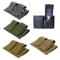 Tactical Double SpeedLoader Belt Pouch Universal Fit 22 MAG, 32, 38, 357, 41, 44