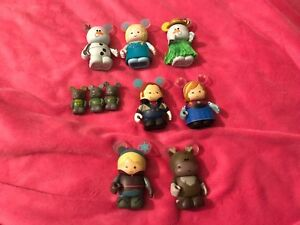 ❤️Disney  Vinylmation Frozen Figures With Chaser  Been On Display Only!❤️