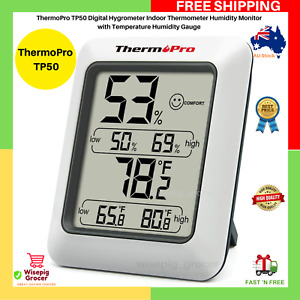 ThermoPro TP50 Digital Hygrometer Indoor Thermometer Humidity Monitor Gauge NEW