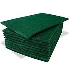 Heavy Duty Professional Green Scourer Pads (6''x9'') - Choose Quantity Required
