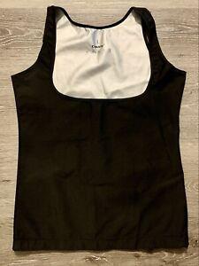 CIMKIZ Women's Hot Sweat Vest Neoprene Sauna Vest Black Size Large Lose Weight