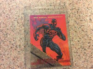 "SPIDER-MAN 2099 ODD BALL 1993 MARVEL ""MASTERPIECES SKYBOX SUPERHERO TRADING CARD"