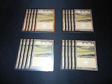 20 Basic Land #332 - SAME ART - Plains - Odyssey - MP-NM - Magic MTG FTG