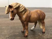 Hagen Renaker Horse Highland Pony Mare - Chestnut - SR - Excellent Condition