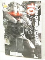 ARMORED CORE 10 Works Complete File Art Illustration Book Fanbook KD94*