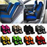 9pcs / Set Universal Car Seat Covers Front Rear Full Set Auto Vehicle Chair Pad