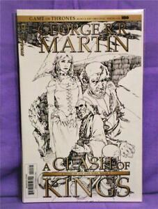 Game of Thrones A CLASH OF KINGS #1 Mel Rubi BW Variant Cvr F (Dynamite, 2017)!