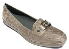 Calvin Klein Women's Patya Signature Loafer Slip On Shoes Mink 6 NEW IN BOX