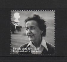 Barbara Ward/escritor/GB 2014 um sello de menta