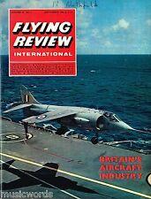 FLYING REVIEW INT SEPT 66: BRITISH AIR SURVEY/ PHANTOM VARIATIONS/ THE BLUE MAX