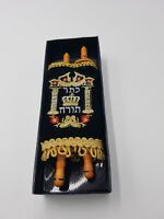 New Small Judaica sefer torah Scroll Book Hebrew Bible Judaica israel