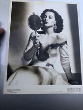 HEDY LAMARR Original Glamour Shot Scene Photo 1946 Actress Publicity Photo