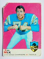 Ron Mix #99 Topps 1969 Football Card (San Diego Chargers) A