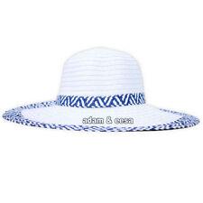 Cappelli da donna bianca in paglia