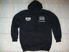 NEU JEEP CHEROKEE fan Kapuzenpulli hoodie schwarz veste jacket  jacke vest gilet