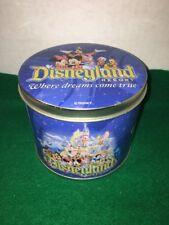 Disneyland Resort Where Dreams Come True Tin, Free Shipping!
