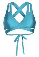 NWT Becca Women's Color Code Wrap Bikini Top size M(M)