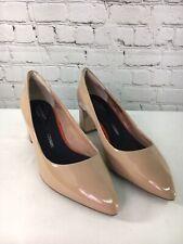 Rockport Total Motion Patent Leather Block Heel Pumps Salima Women Size 8.5W