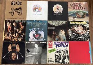 Vinyl Schallplatten Sammlung Beatles Queen AC/DC Dire Straits Bob Dylan Rock