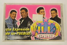 La Expresion De Un Pueblo by Villa Band (Audio Cassette Sealed)