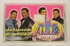La Expresion De Un Pueblo by Villa Band (Audio Cassette Sealed)