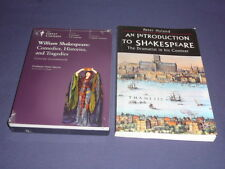 Teaching Co Great Courses DVD  SHAKESPEARE  Comedies Histories Tragedies + BONUS
