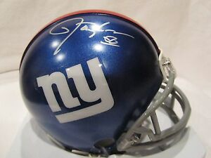 Lawrence Taylor Autographed New York Giants Mini Helmet – TRISTAR Sticker ONLY
