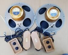 """Vintage Tannoy Monitor Gold 12"""" Speakers Pair Exct"""