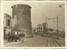 Sicile, Ancienne toure à Palerme, ca.1925, vintage silver print vintage silver p