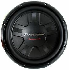 Pioneer 12 Inch 1400 Watt Subwoofer Car Audio Power 4-Ohm DVC Sub | TS-W311D4