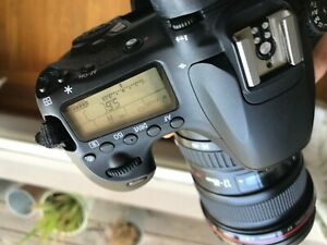 Canon  EOS 60D with 17x40 mm Canon lens