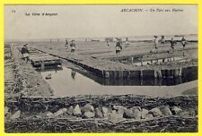 cpa 33 - ARCACHON (Gironde) Un PARC aux HUITRES Ostreïculture PARQUEUSES