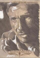 "Indiana Jones Masterpieces - Kyle Babbitt ""Indy"" Sketch Card"