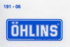 OHLINS ORIGINALI stickers adesivi Ducati GENUINE decals 18x46mm