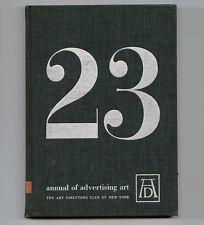 1944 Paul Rand ADC ADVERTISING ART+ DESIGN ANNUAL Joseph BINDER McKnight Kauffer