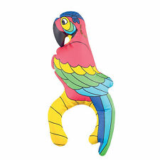 Tropical Blowup Animal Parrot Fancy Dress Pirate Party Decoration Accessory Toy