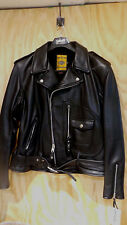 Schott-NYC-Perfecto-75th-Anniversary-1928-Blk Leather-Motorcycle-Jacket-44  NWT