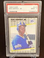 1989 Fleer Ken Griffey Jr. Rated Rookie RC #548 PSA 9 MINT Seattle Mariners HOF
