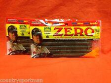 "Strike King 5"" Zero Soft Plastics (6/pk;12 ttl)(2 pks) #3Xz5-103 Dirt"